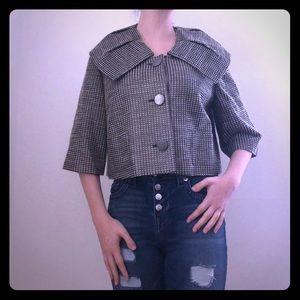 Badgley Mischka Cropped Jacket